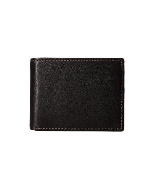Johnston & Murphy | Black Flip Billfold Wallet for Men | Lyst