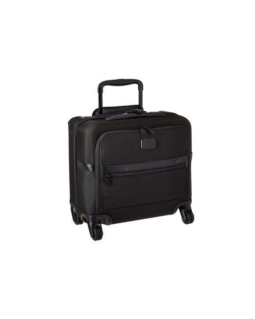 Tumi - Alpha 2 - 4 Wheeled Compact Brief (black) Luggage - Lyst