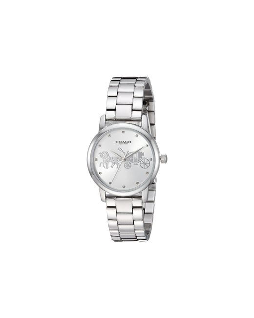 COACH - Multicolor Grand - 14502975 (silver White) Watches - Lyst