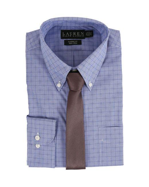 Lauren by Ralph Lauren - Blue Glen Plaid Classic Button Down Shirt for Men - Lyst