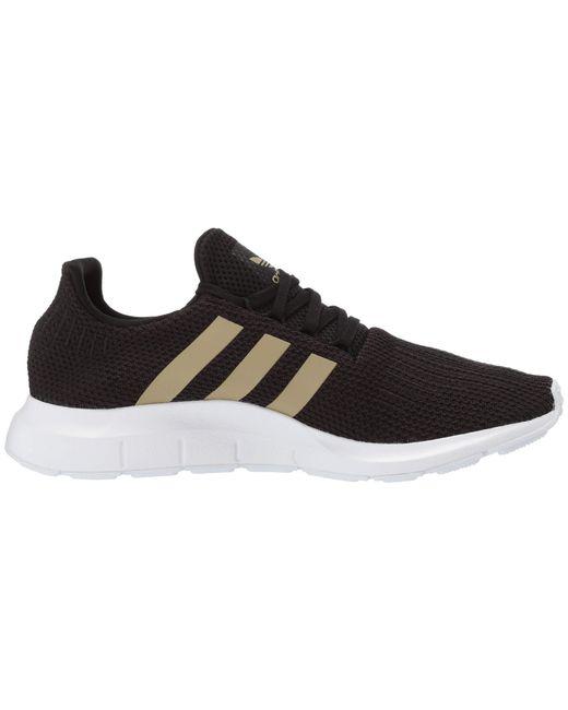 9c9eefdb59538 ... Adidas Originals - Multicolor Swift Run W (core Black tech Silver  Metallic footwear ...