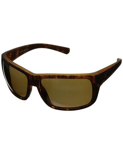Kaenon - Redwood (tortoise Matte Grip Ultra Brown 12-polarized) Athletic Performance Sport Sunglasses for Men - Lyst