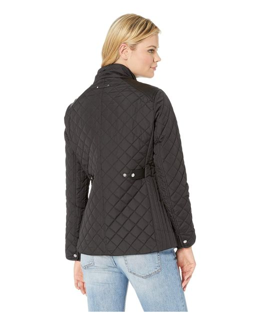 Lyst - Lauren by Ralph Lauren Quilted Barn Jacket With