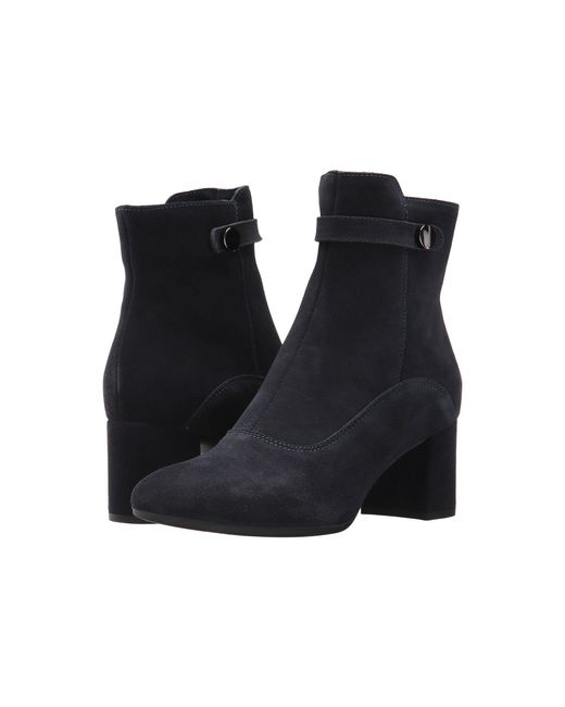 La Canadienne Jessa Black Suede Women S Boots In Blue Lyst