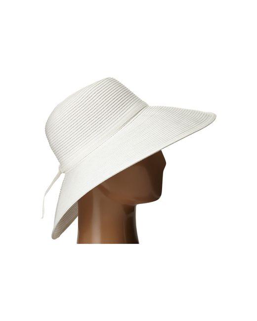 975f899c ... San Diego Hat Company - White Mxl1017 Round Crown Floppy With Braided  Self Tie (black ...