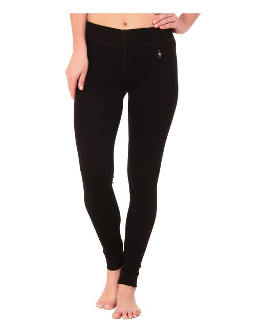 Smartwool - Black Nts Mid 250 Bottoms (charcoal Heather) Women's Casual Pants - Lyst