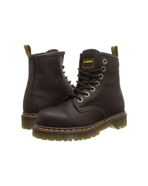 Dr. Martens | Brown 7b10 St 7 Eye Boot | Lyst