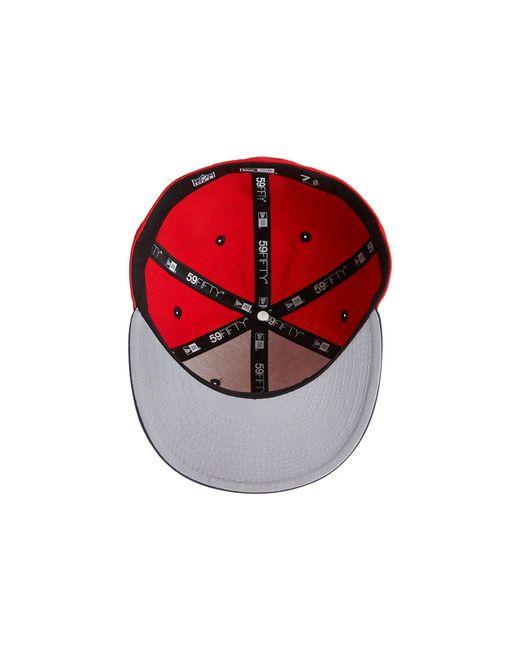 KTZ. Men s Nfl Two-tone Team New England Patriots (red) Baseball Caps 002e49420