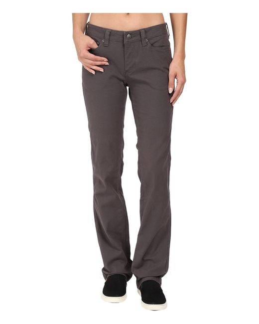 Mountain Khakis - Gray Camber 106 Lined Pants Classic Fit (slate) Women's Casual Pants - Lyst