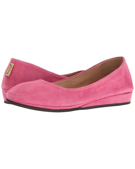 French Sole | Pink Zeppa | Lyst