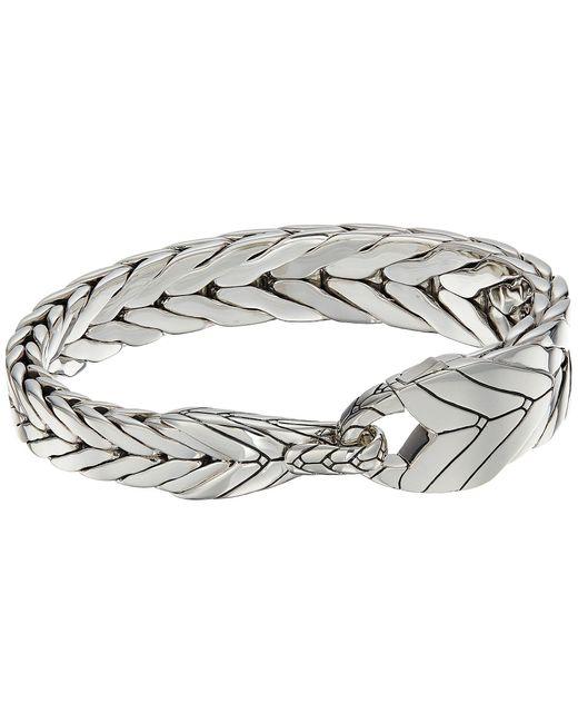 John Hardy - Metallic Modern Chain Bracelet (silver) Bracelet for Men - Lyst