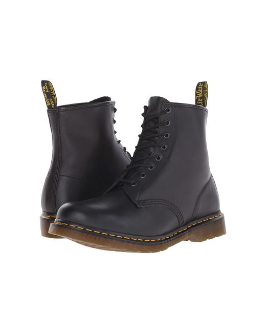 Dr. Martens - Multicolor 1460 (black Greasy) Lace-up Boots - Lyst