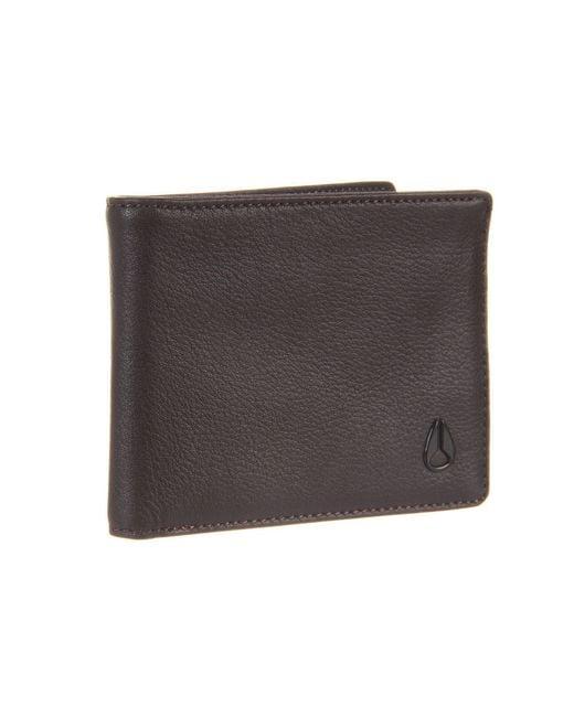 Nixon   Brown Cape Bi-Fold Wallet   Lyst
