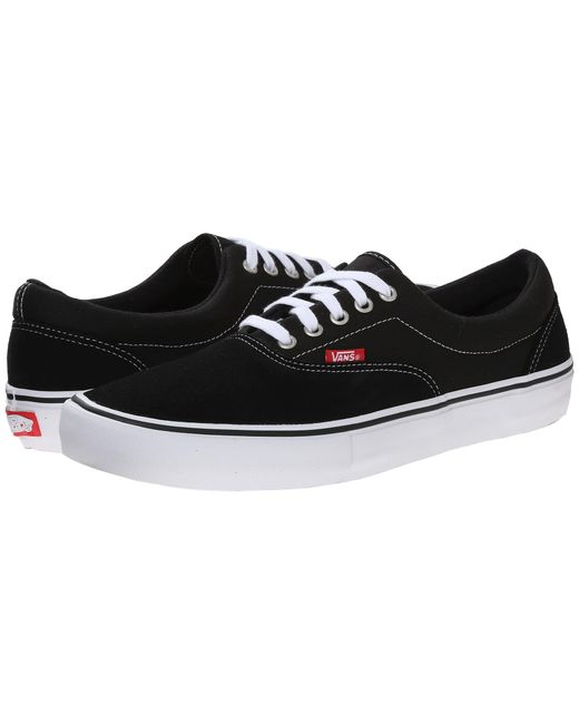 Vans | Black Era Pro for Men | Lyst
