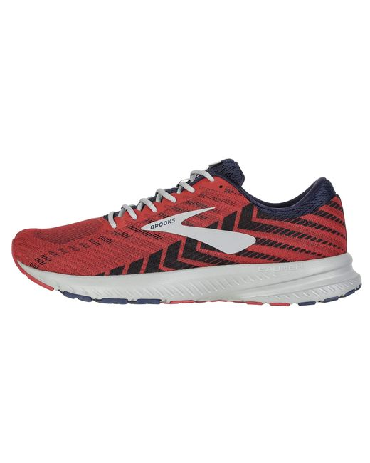 acb85702d94 ... Brooks - Multicolor Launch 6 (blue nightlife white) Men s Running Shoes  for ...