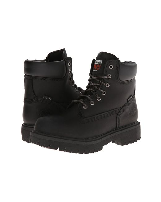 "Timberland - Black Direct Attach 6"" Soft Toe for Men - Lyst"