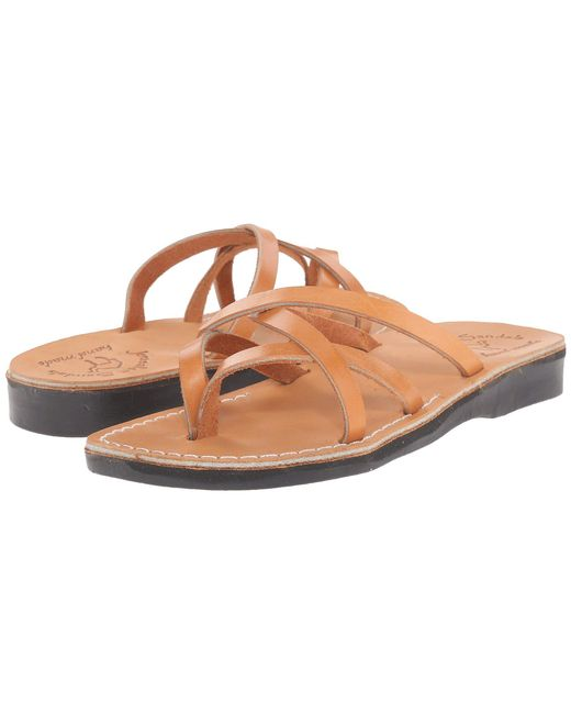 Jerusalem Sandals Brown Tamar - Womens