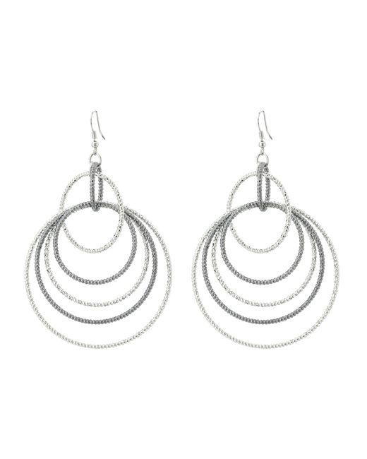 Guess | Multicolor Anyone's Multi Linked Hoop Earrings | Lyst