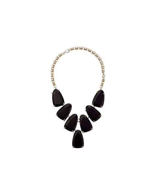 Kendra Scott   Black Harlow Necklace   Lyst