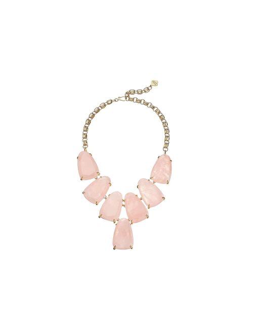 Kendra Scott   Pink Harlow Necklace   Lyst