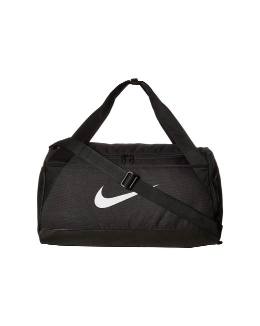 Nike - Brasilia Small Duffel Bag (flint Grey black white) Duffel Bags ... 04944d1d83f13