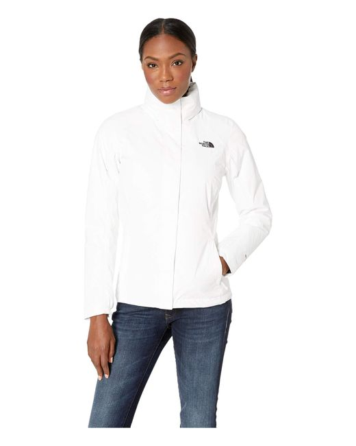 The North Face - White Resolve Insulated Jacket (juicy Red/juicy Red) Women's Coat - Lyst