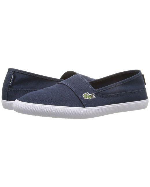 Lacoste - Blue Marice Bl 1 (black) Women's Shoes - Lyst