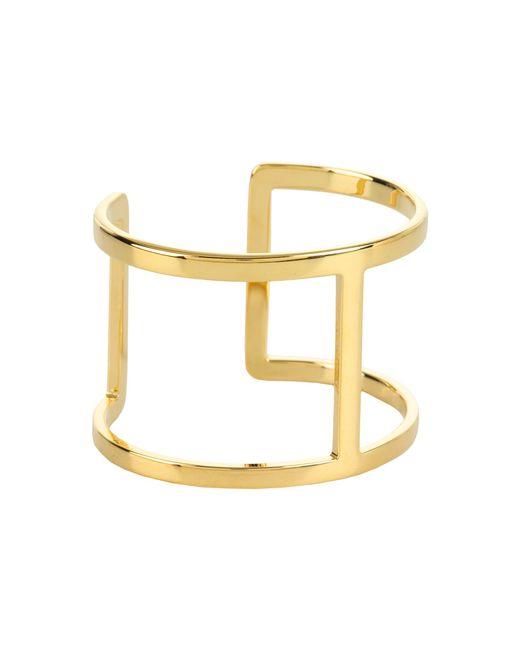 Vince Camuto | Metallic Metal Bracelets Open Cuff | Lyst