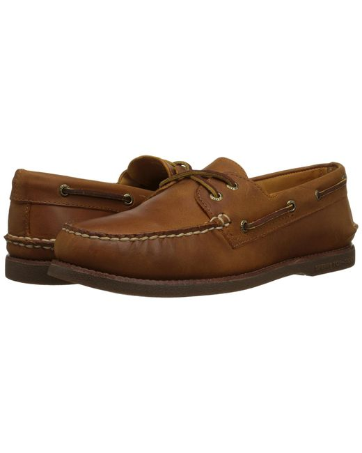 Sperry Top-Sider | Brown Gold A/o 2-eye for Men | Lyst