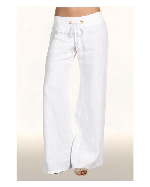 Lilly Pulitzer | White Beach Pant | Lyst