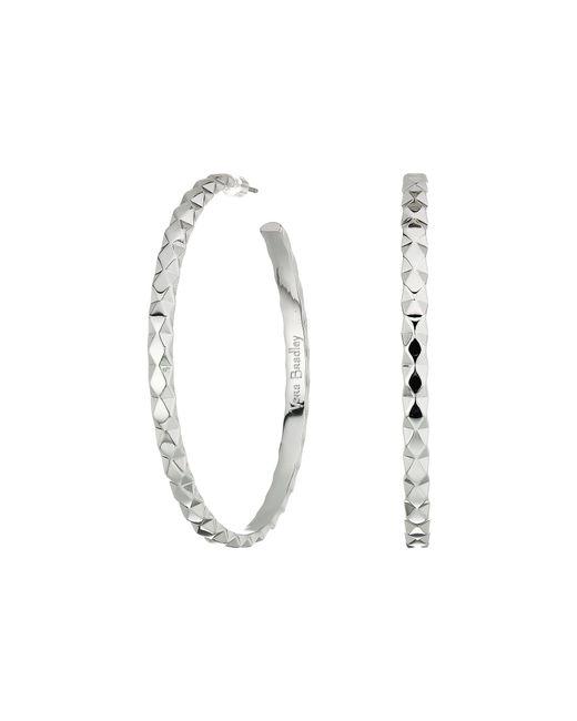 Vera Bradley   Metallic Chic Elements Large Hoop Earrings   Lyst