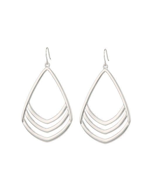 Vince Camuto - Metallic Chevron Drop Earrings - Lyst