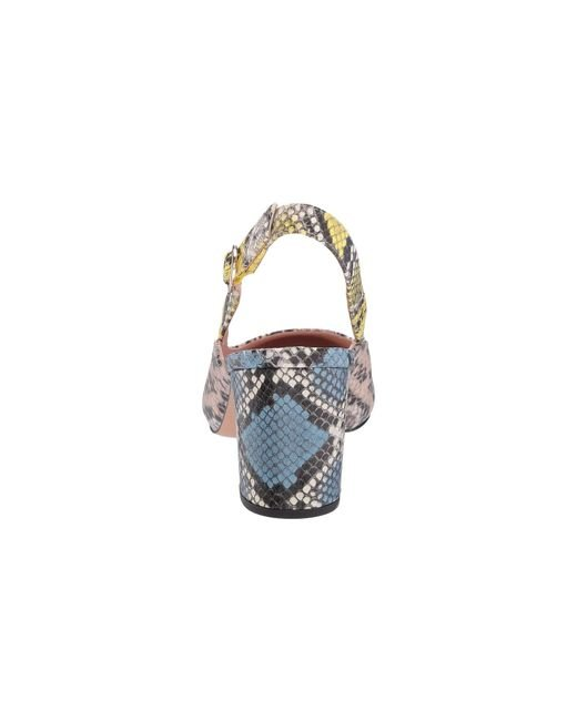dfe96b82adc ... J.Crew - Slingback Sage Pump In Mixed Snake (sunwashed Pink) Women s  Shoes ...