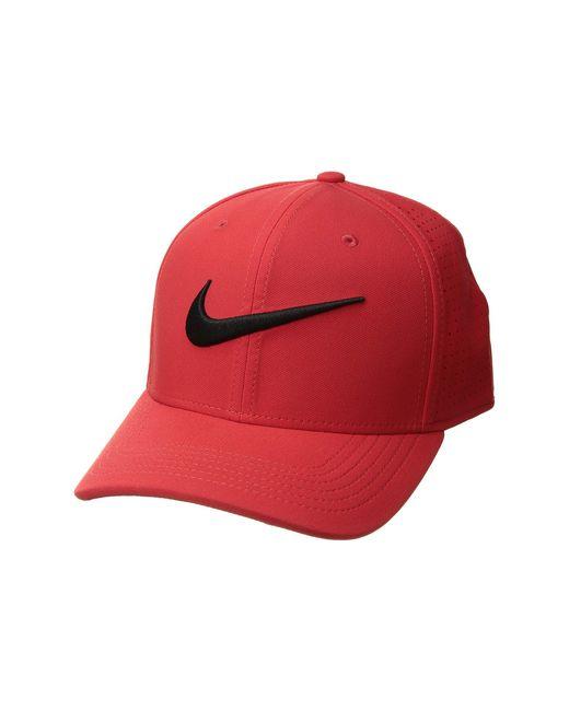 Nike - Train Vapor Swooshflex Hat (black/black/black/white) Caps for Men - Lyst