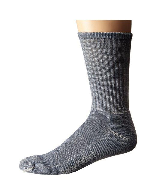 Smartwool - Blue Hike Light Crew (light Gray) Crew Cut Socks Shoes - Lyst