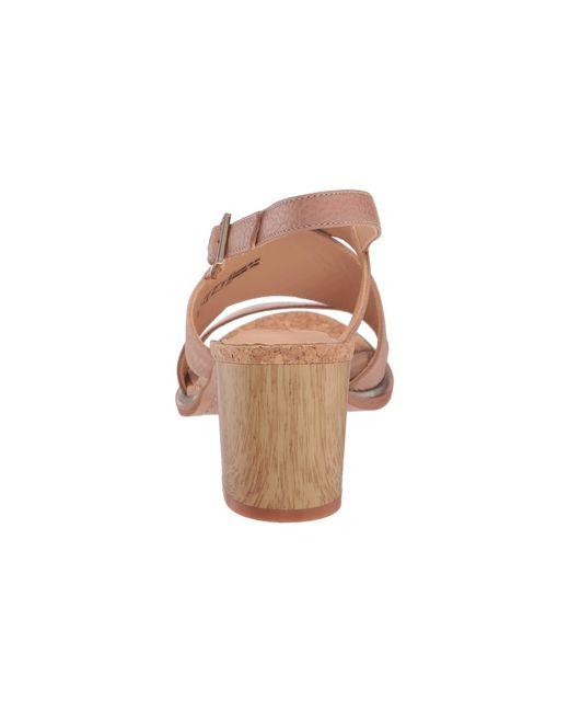 8021fad6eb4 ... Clarks - Natural Ellis Tilda (nude Leather) High Heels - Lyst ...