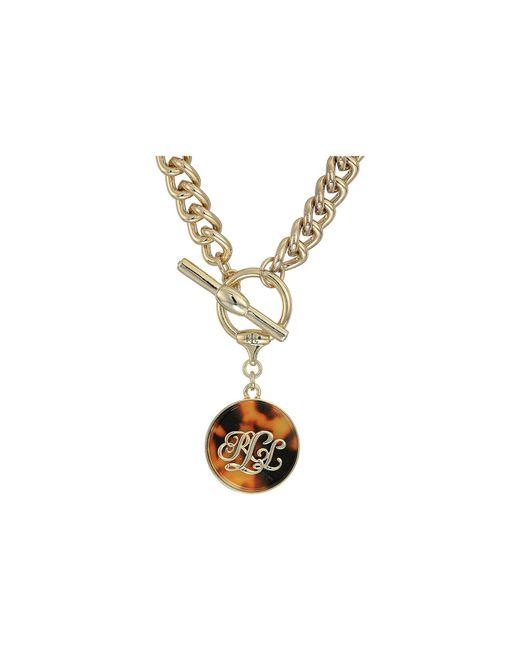 Lauren by Ralph Lauren - Metallic Tortoise 18 Pendant Necklace (gold) Necklace - Lyst