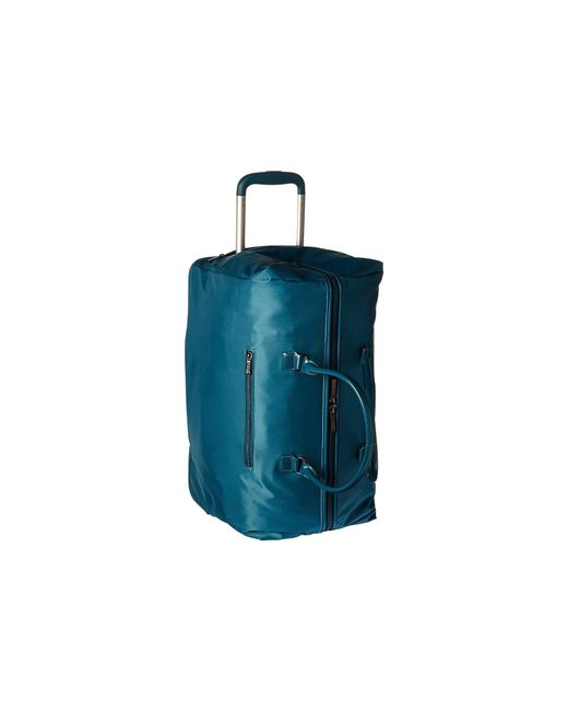 Lipault - Lady Plume Wheeled Weekend Bag (duck Blue) Weekender/overnight Luggage for Men - Lyst