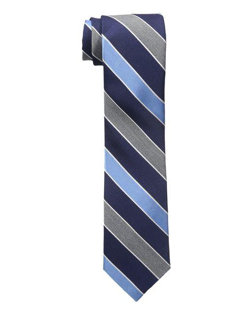 Tommy Hilfiger - Heather Stripe (blue) Ties for Men - Lyst