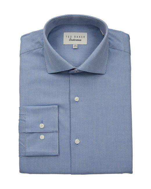 a02d326d39bbc Ted Baker - Endurance Slick Rick Shirt (blue) Men s Clothing for Men - Lyst