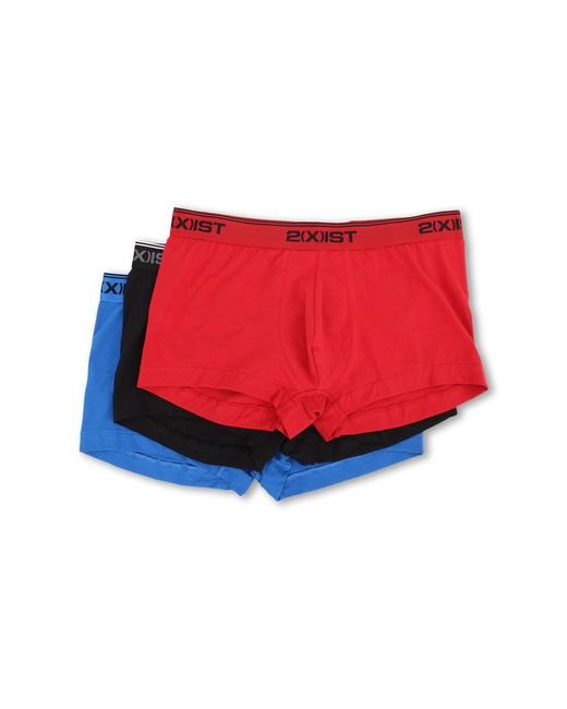 2xist - Multicolor Stretch 3 Pack No Show Trunk for Men - Lyst