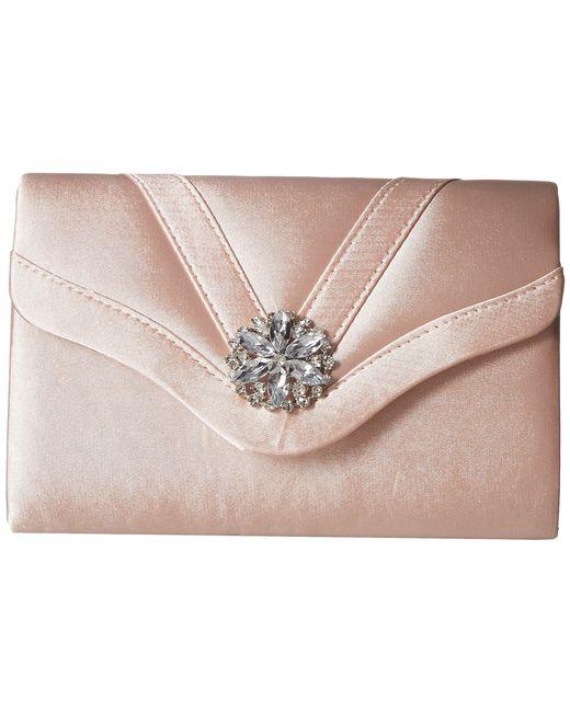 Jessica Mcclintock - Multicolor Alexis Clutch (blush) Clutch Handbags - Lyst