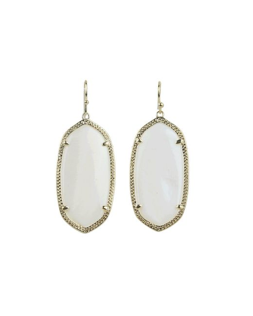 Kendra Scott | Metallic Elle Earring | Lyst