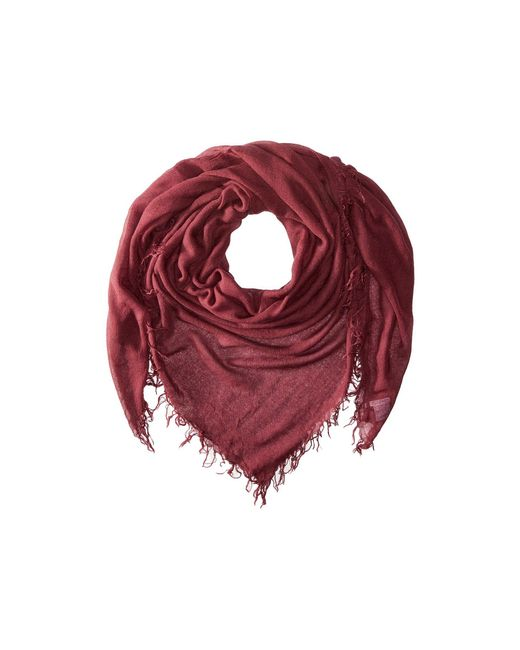 Chan Luu - Red Cashmere And Silk Scarf - Lyst