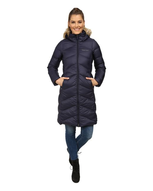 Marmot   Blue Montreaux Coat   Lyst