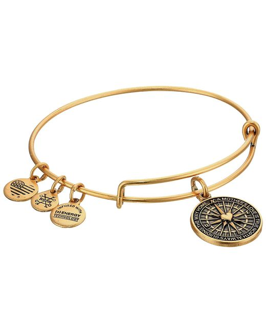 ALEX AND ANI - Metallic True Direction (rafaelian Silver) Bracelet - Lyst
