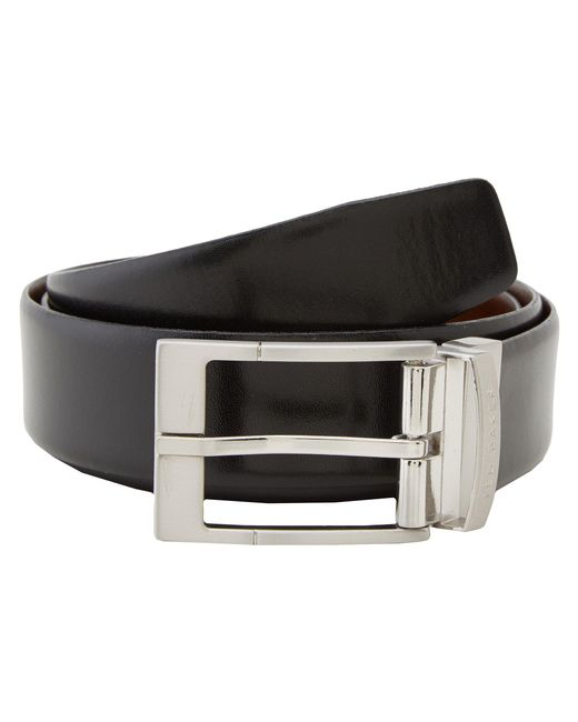 Ted Baker | Black Connary Reversible Belt for Men | Lyst