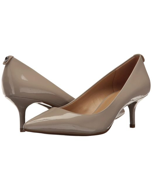 MICHAEL Michael Kors | Brown Mk Flex Kitten Pump | Lyst