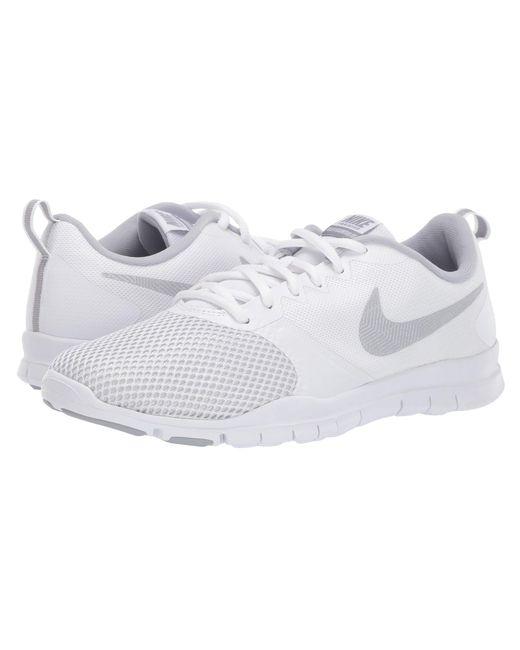 32078baed3a7 Nike - Flex Essential Tr (gunsmoke white atmosphere Grey) Women s Cross  Training ...