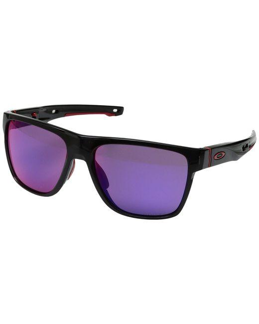 c8c91415df99a Oakley - Crossrange Xl (polished Black W  Prizm Golf) Fashion Sunglasses -  Lyst ...